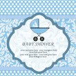 Royalty-Free Stock Vector Image: Baby Shower Announcement