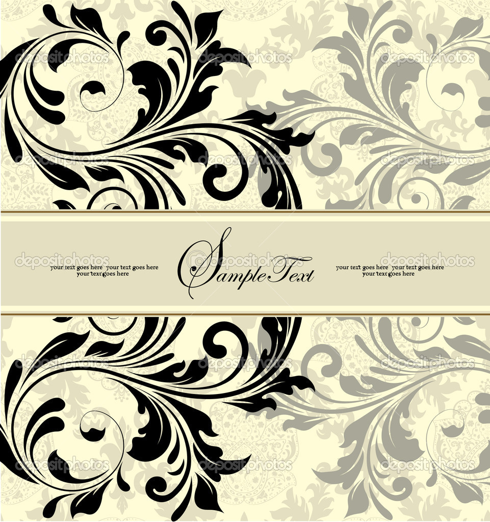 FLORAL BACKGROUND — Stock Vector #7468689