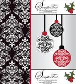Elegantní vánoční pozadí — Stock vektor