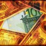 Dollars are burning — Stock Photo #6807457