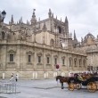 Cathedral in Sevilla — Stock Photo