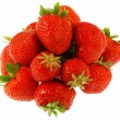 Many strawberries fruits — Stock Photo