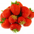 Royalty-Free Stock Photo: Many strawberries fruits