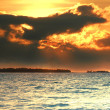 Sunset in the Maldives — Stock Photo #6808521