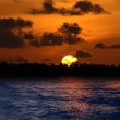 Sunset in the Maldives — Stock Photo #6808523