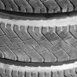 Old tyres — Stock Photo