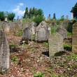Ancient jewish cemetery - Stock Photo