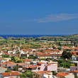 Sardinian town Pula — Stock Photo