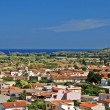 Stock Photo: sardinian town pula