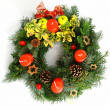 Christmas wreath — Stock Photo #6809694