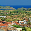 Sardinian town Pula - Stock Photo