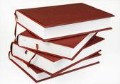 四本书的堆栈 — 图库照片