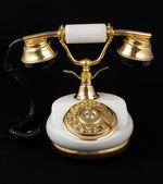 Ancient telephone — Stock Photo