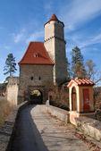 Medieval castle Zvikov — Stock Photo