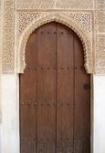 Door in Alhambra — Stock Photo
