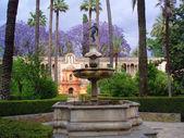 Park in Alhambra — Stock Photo