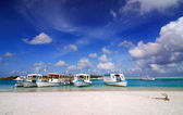 Maldivian Port — Stock Photo