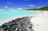 Beach in the Maldives — Stock Photo
