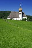 Alpine church — Stock Photo