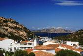 Beautiful Sardinian port — Stock Photo
