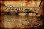 Memories of Ponte Vecchio — Stock Photo