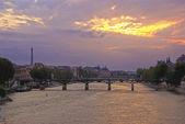 Sunset in Paris — Stock Photo