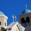 Foto Stock: Greek orthodox church