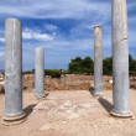 Sardinian ruins — Stock Photo