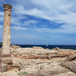 Ruins and ship — Stock Photo #6810128