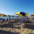 Beach and umbrellas — Stock Photo #6810367