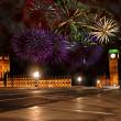 ano novo em Londres — Foto Stock