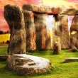 Fantasy Stonehenge - Stock Photo