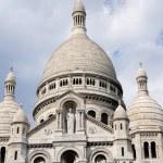 The Famous church of Sacre-Coeur, Montmartre, Paris — Stock Photo #6810753