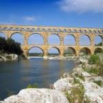 Pont du Gard — Stock Photo