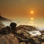Sunset on Sri Lanka — Stock Photo