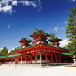 Stock Photo: Heian shrine