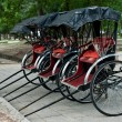 Stock Photo: Rickshaws