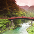 Sacred bridge Shinkyo — Stock Photo