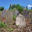 antiguo cementerio judío — Foto de Stock