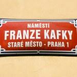 Square of Franz Kafka — Stock Photo