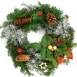 Christmas wreath — Stock Photo #6812457
