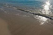 Solen i havet — Stockfoto