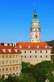 Castelo de cesky krumlov — Foto Stock