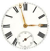 Stříbrné hodinky — Stock fotografie