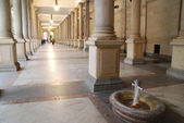Mill colonnade — Stock Photo