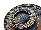 Detail of astronomical clock — Foto Stock