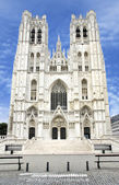 St. Michael and Gudula Cathedral — Stock Photo