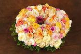 Belle couronne de rose — Photo