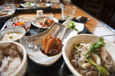 Dinner in Japan — Stock Photo