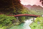 Sacred bridge Shinkyo — Stock Photo